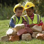 Childrens Builders Safety Helmet